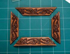 vintage western belt frame diy   http://www.designsponge.com/2011/11/diy-project-vintage-belt-frame.html