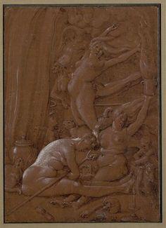 Hans Baldung gen. Grien, Hexensabbath 2, 1514 © Albertina, Wien