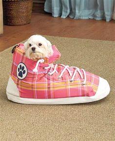 High Top Tennis Shoe Pet Bed