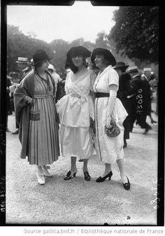 Longchamp, modes, 1919 : grand Prix : [photographie de presse] / Agence Meurisse
