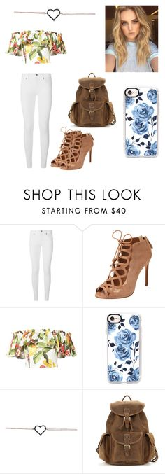 """""""Addi"""" by kendall-bostic ❤ liked on Polyvore featuring Burberry, Alexandre Birman, Isolda and Casetify"""