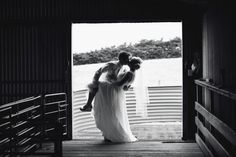 Wedding Photography ❤ black and white silhouette, shearing shed, country wedding