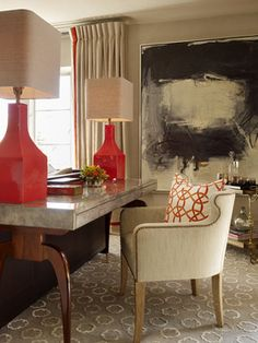 Lamps. Urban Living - Pacific Heights - contemporary - living room - san francisco - Jeffers Design Group