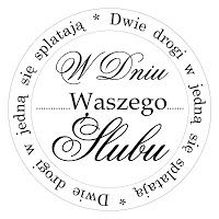 Digi stemple by Novinka: Ślub