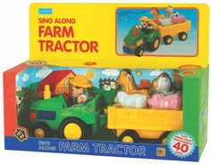 Megcos Musical Toy Farm Tractor -Affordable Gift for your Little One! Item LMID-1274 >>> This is an Amazon Affiliate link. Want additional info? Click on the image.