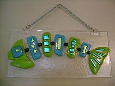 Fused Fish Bonz - Lime Green. $35.00, via Etsy.