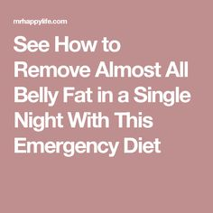 See How To Remove Almost All Belly Fat In A Single Night With This Emergency Diet - Natural Cures House Diet Recipes, Cooking Recipes, The Thing Is, Natural Cures, Health Tips, The Cure, Things To Do, Health And Beauty, Fat