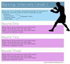 Boxing workout