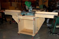 Rolling Miter Saw Stand - by steopa @ LumberJocks.com ~ woodworking community