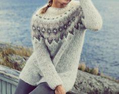 Nordic Pullover, Nordic Sweater, Chrochet, Knit Crochet, Icelandic Sweaters, Handicraft, Ravelry, Knitwear, Knitting Patterns