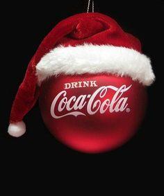 Coca~Cola Santa Hat Ornament - By: Coke is perfect! Coca Cola Santa, Coca Cola Christmas, Coca Cola Ad, Always Coca Cola, World Of Coca Cola, Cola Wars, Coca Cola Light, Christmas Themes, Sodas
