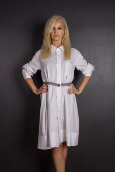 upcycled Save The Planet, Slow Fashion, Upcycle, Shirt Dress, Detail, Cotton, How To Wear, Shirts, Dresses