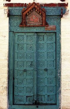painted indian carved doors - Google Search