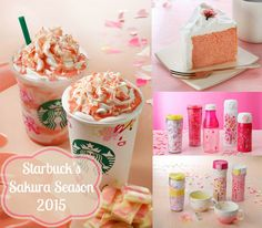 Starbucks has a special season ONLY available in Japan, and I got to try it!  Introducing the Starbucks Sakura Season 2015