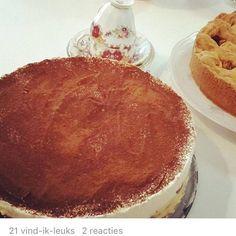 Tiramisu taart gemaakt door ZOET! #genieten #tiramisu #taart #zoet #zeist #Theehuis #Tearoom #Lunchroom