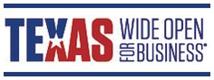 Texas: Wide Open For Business    link to texas SOS for opeing a business