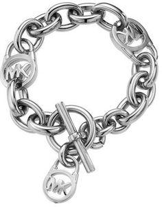 Black Spade Sisters Infinity Toggle Chain Bracelet Silvertone Card Suit 8