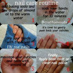 Diy nail care routine