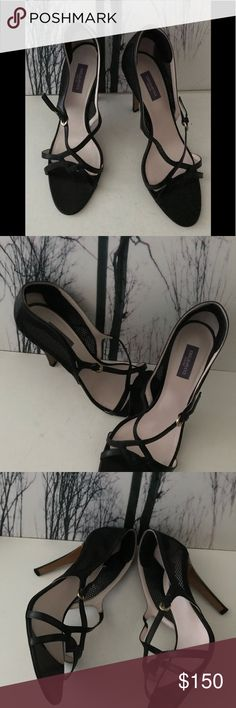 Authentic Designer Sandals Authentic- Emilio Pucci Black Sandals In Gently Used Condition. These beauties have been worn one time only but gently. Very chic and a great addition to a wardrobe. Color:Black Size:9 Emilio Pucci Shoes Heels