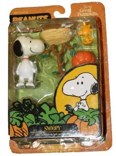 Peanuts - its the Great Pumpkin Charlie Brown - Snoopy and Woodstock Nest and Pumpkin by Peanuts @ niftywarehouse.com #NiftyWarehouse #Peanuts #CharlieBrown #Comics #Gifts #Products