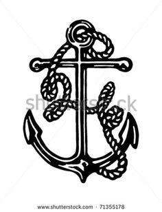 anchor design only for hall decs instead of a tattoo yay ra hood rh pinterest com Cartoon Anchor Clip Art Anchor with Rope Clip Art