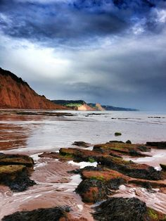 Sidmouth - the Jurassic Coast: and it makes me wonder what it was like pre-humans. Think it would be wise to get some footage here.