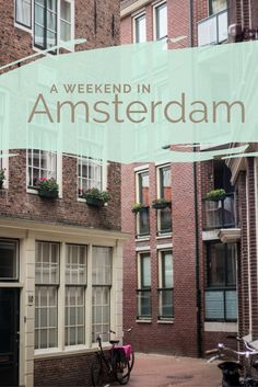 The Dutch capital has so much to offer, you only need to pick. You get the full package, historical sites, funny places, busy streets, impressive art scene and of course good food.