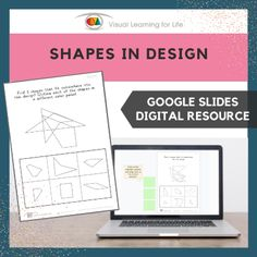 This digitally interactive resource is designed for use with Google Slides. This resource contains 14 slides in total. Answer sheets are included.The student must identify the three shapes that fit into the design, and drag the green highlight squares to mark the correct answers.