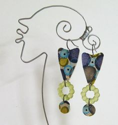 LIZZIE  Earrings by droolworthy on Etsy, $18.00