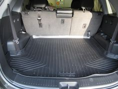Back Seat Husky Liner Installed In A Buick Encore Husky