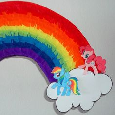 my little pony pinata | my little pony piñata arcoiris