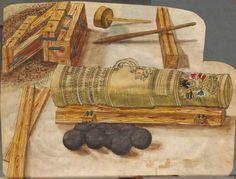Zeugbuch Kaiser Maximilians I Innsbruck, um 1502 Cod.icon. 222  Folio 48v