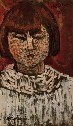 Retrato de George Ortiz, 1917 - Amedeo Modigliani