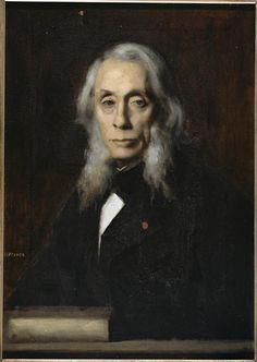 Jean-Jacques Henner -  Félix Ravaisson-Mollien (1813-1900), philosophe et archéologue,   1889.  Paris, Petit Palais, musée des Beaux-Arts de la Ville de Paris http://www.petitpalais.paris.fr/
