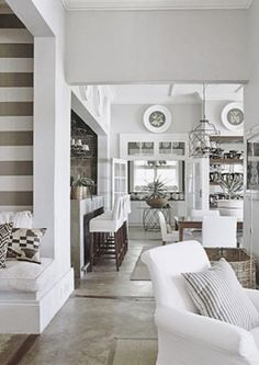 A Compelling Case For White: 40 Gorgeous White Rooms - South Shore Decorating Blog