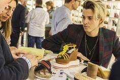 #lineapellefair SS17 #Milan #leather #summer17trends