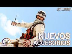 Battlefield 1 Nuevos Accesorios Garfio de Escalada, Escudo de trincheras...