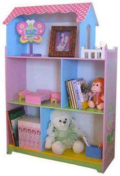 """Bücherregal """"Puppenhaus Fairy mit Terasse"""""""