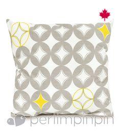 small cushion yellow