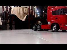 Bruder RED/BLACK RC Scania Streamline model modified