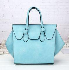 Tas Classy blauw blauwe mooie imitatie leren handtas dames musthave goedkope tassenonline handtassen kopen