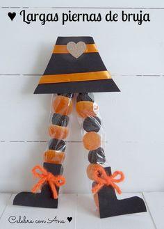 15 maneras originales de repartir tus caramelos en Halloween  #caramelos #halloween #diy #manualidades #hogar  www.hogardiez.com