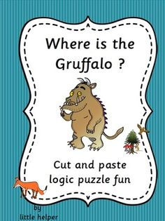 This set has 10 logic puzzles with the Gruffalo characters plus one right or wrong reading worksheet. The logic puzzles are divided into 3 difficulty levels. Gruffalo Activities, Gruffalo Party, The Gruffalo, Classroom Activities, Book Activities, Teaching Resources, Teaching Ideas, Creative Writing For Kids, Creative Activities