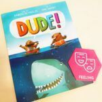 A character's feelings play such a critical role into the context of the story. A character's emotions influence the weight of a single word and how that drives the story.🏄♂️Dude! by Aaron Reynolds is a perfect way to introduce the power of a character's emotions on the context of a story and why those elements of narratives should always be taken into account.