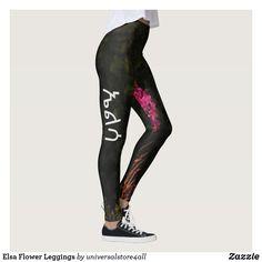 Elsa Flower Leggings