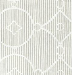 BRADLEY USA │Maresca Textiles│CIRCLE DIAMOND STRIPE SHALE FABRIC  │ #bradleyusa