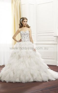 Ball Gown Sweetheart Empire Sleeveless Floor-length Wedding Dresses wbs0283--Hodress