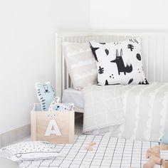 Ropa de cama infantil. Bandide.com #bedding #kidsroom #babyroom #duvetcover