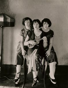 The Boswell Sisters, singers noted for intricate harmonies and rhythmic experimentation in the 1930s and '40s
