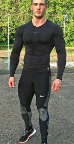 New sport outfit gym men mens fashion 56 ideas Gym Style, Sporty Style, Sport Fashion, Fitness Fashion, Fitness Clothing, Fitness Shirts, Mens Fashion, Fashion Black, Gym Fashion